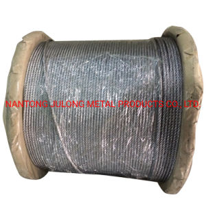 Acier noir Wire Rope, Ungalvanized Steel Wire Rope 19*7, de Non rotation de la corde de fils en acier