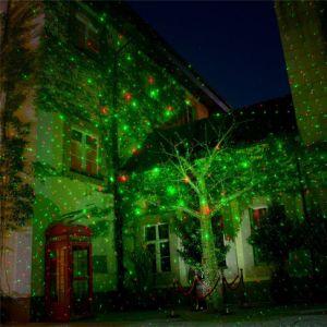 防水IP65屋外のクリスマスの芝生の静的なホタルの庭のレーザー光線