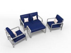 Jeu neuf de groupe de causerie de fonte d'aluminium de meubles de jardin de type