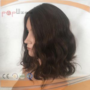安い価格の人間の毛髪の完全なレースのかつら(PPG-l-0338)