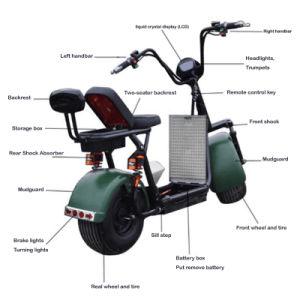 Preiswerter Stoß-Roller-surfender Roller mit entfernen Batterie für Erwachsenen