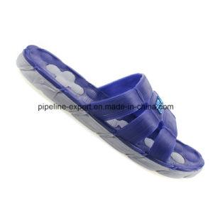 Les hommes personnalisés à l'intérieur PVC pantoufles pantoufles