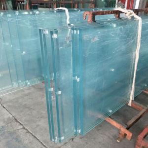 Certificado de edificio SGCC reflectante de alta calidad claras Pec templado Vidrio laminado de seguridad