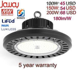 Alta potencia 100W/150W/200W/almacén industrial de la bahía de la fábrica de luz LED de alta