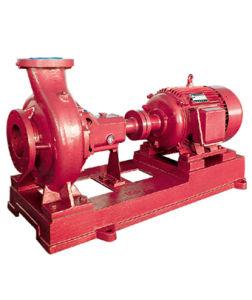 전기 화재 펌프 최후 흡입 유형, 화재 펌프, 끝 흡입 화재 펌프