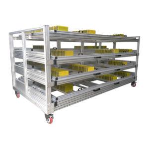 Fabricado na China Loja do perfil de alumínio de rack de exibição
