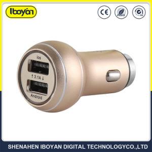 高品質の携帯電話のアクセサリ携帯用3.1Aは充電器USBポート車USBの二倍になる