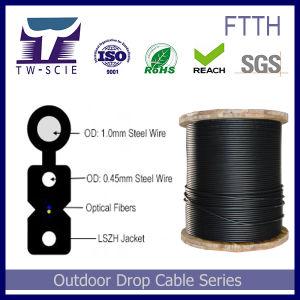 1-4 van de Communicatie van de kern de Kabel van de Daling Vezel van Telecommunicatie FTTH
