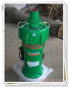 Pompa del mezzo sommergibile di Oiliness