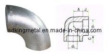Naadloos Roestvrij staal 304L Sch10 90 Elbow