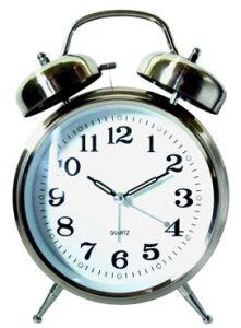 Twin Bell Alarm Clock (KV217)