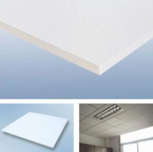 Plafond en fibre de verre carré, panneau de plafond acoustique