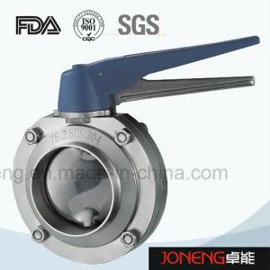 Valvola a farfalla di piccola dimensione premuta sanitaria dell'acciaio inossidabile (JN-BV4004)