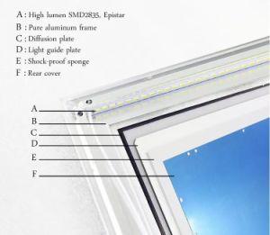 36W de opgeschorte Vierkante LEIDENE Lamp van het Plafond met Dali voor Kitchroom