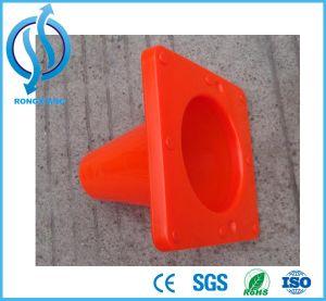 Orange 15cm Cone de estrada de PVC
