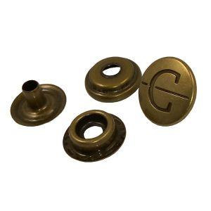 Personalizar Botão de metal de liga de zinco fundido sob pressão