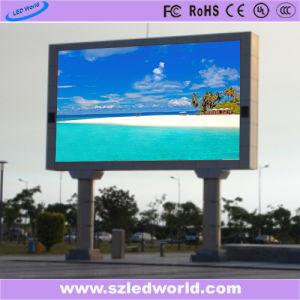 P5 HD fijo a todo color de pantalla LED para publicidad