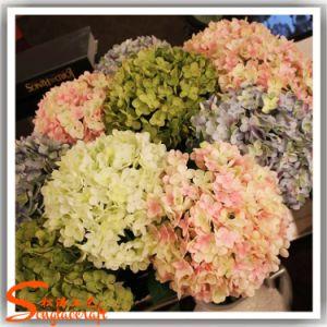 Estilo clássico banquetes decoração de casamento planta artificial Flores de seda