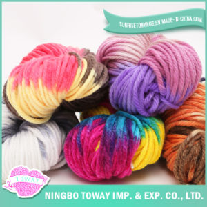 20% 80% de lã acrílica Fancy Rainbow Islândia nômade de poliésteres