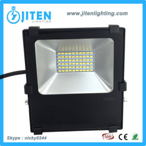 La luz exterior LED de alta potencia 30W de iluminación de inundación Impermeable IP65