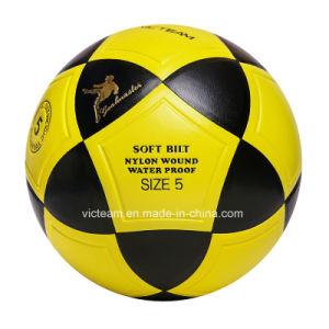 도매 주문 로고 크기 5 훈련 축구 공