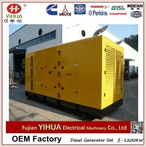 800kVA/640kwウーシー力エンジンによって動力を与えられる無声ディーゼル発電機セット