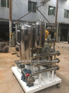 La déshydratation de l'huile de lubrification de l'huile hydraulique de l'huile carburant séparateur d'eau (TYD-50)