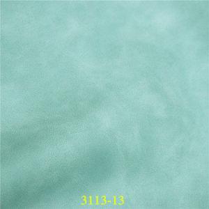 Башмак Two-Tone материал PU синтетическая кожа с восковой эффект масла