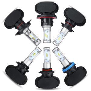 Premium 9005 9006 9007 H7 coche Faro LED/Auto Kit de faros de LED para Japón, Estados Unidos, Alemania, Reino Unido, Canadá, en coche Faro de LED (CE/RoHS/SG/ISO9001/2año de garantía).