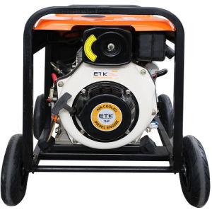 3kw de Enige Fase Electric&#160 van de macht; De Diesel van het begin Reeks van de Generator