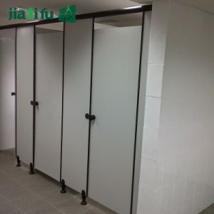 Jialifuのコンパクトの積層物HPLの浴室のキュービクル