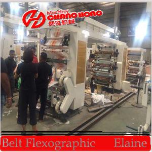 4 Color Pila impresión flexográfica Máquina (CH884)