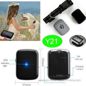 防水IP67 (Y21)のペットのための1000mAh電池GPSの追跡者
