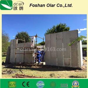 Poids léger modulaire panneau sandwich de ciment EPS Partition (matériaux de construction)