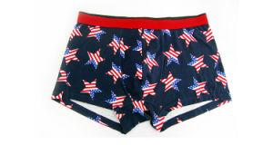 pugili Brief Fashion di 95%Cotton/5%Pendex Men Underwear per 227
