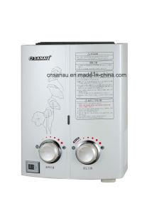 6L instantáneo calentador de agua de gas portátiles exterior Sgh-55s