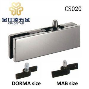 La parte superior de la esquina parche racor con pivote de la puerta de cristal CS020 Cristal de la abrazadera superior
