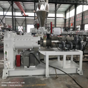 Strato all'ingrosso della scheda della gomma piuma del PVC WPC che fa la linea di produzione dell'espulsione della macchina