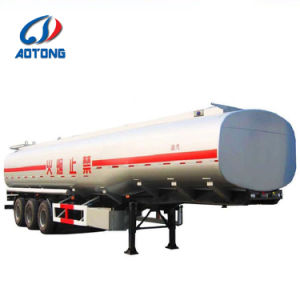 di 3axles 4compartements 40000liters del serbatoio di combustibile rimorchio semi con la scaletta