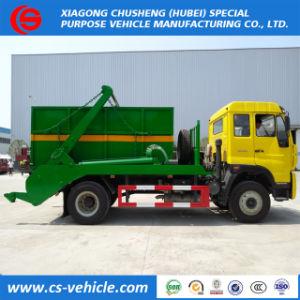 판매를 위한 유로 III 4X2 10cbm 그네 팔 쓰레기 트럭