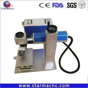 Vidrio OEM 5W UV marcadora láser CNC