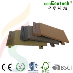 Le bois plastique panneau mural WPC revêtement composite
