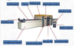 نجارة فراغ يرقّق آلة/فراغ صحافة آلة يرقّق آلة لأنّ خشبيّة باب [مدف] أثاث لازم قشرة باب يجعل فراغ غشاء صحافة آلة