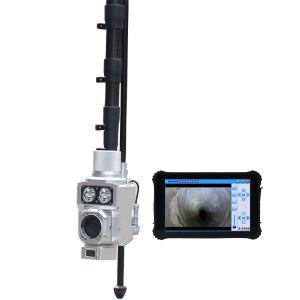Contro macchina fotografica di rilevazione della conduttura di drenaggio di Digitahi con la registrazione del testo