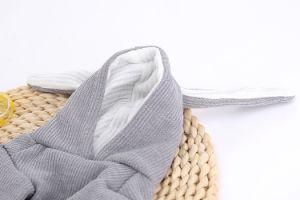 Ropa de perro gato Conejo Bunny traje gris animales tejer prendas de vestir traje de Algodón Forro polar
