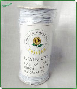 Cavo elastico bianco rotondo dei cavi caldi di vendita 1.5