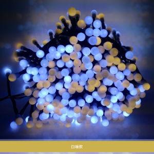 Buntes Solar-LED-Zeichenkette-Licht für im Freien