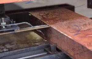 Type de plaque constructeur de scie bois carré bord glissante/ de sciage de feuillus à bon marché de scie long bord de la machine de sciage de la bande a vu le travail du bois Commission mixte de doigt du bras-support en caoutchouc