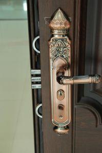 中国のナイジェリアの市場(SC-S006)のための鋼鉄ドアの低価格のブランドの鋼鉄ドア