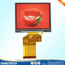 7 Vrije het Bekijken van het Scherm van TFT LCD Hoek 50pin 800X480